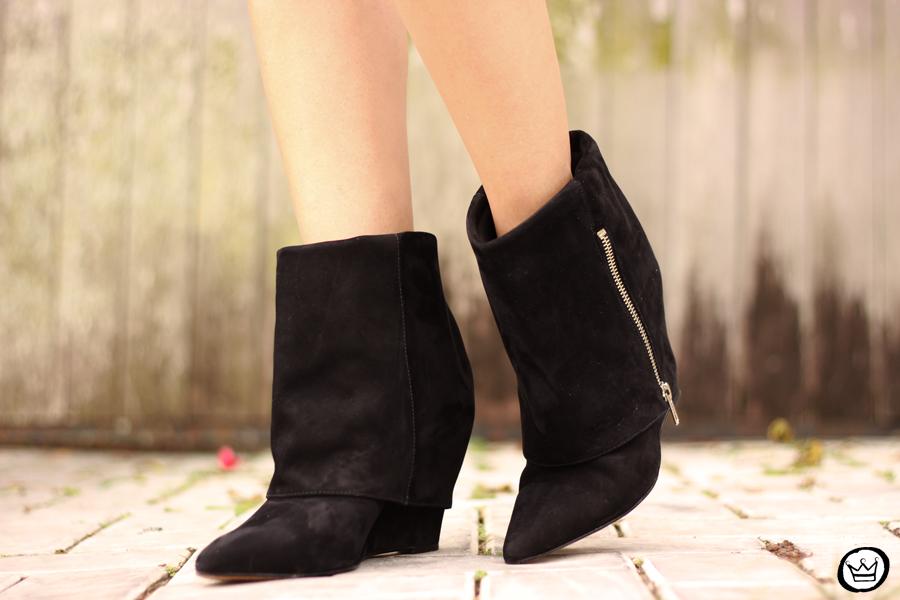 FashionCoolture - look du jour Dafiti leopard skirt leather jacket Santa Lolla boots (6)
