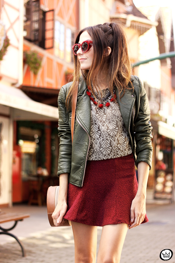 FashionCoolture - 10.04.2015 look du jour Amaro Marsalla printed top (2)