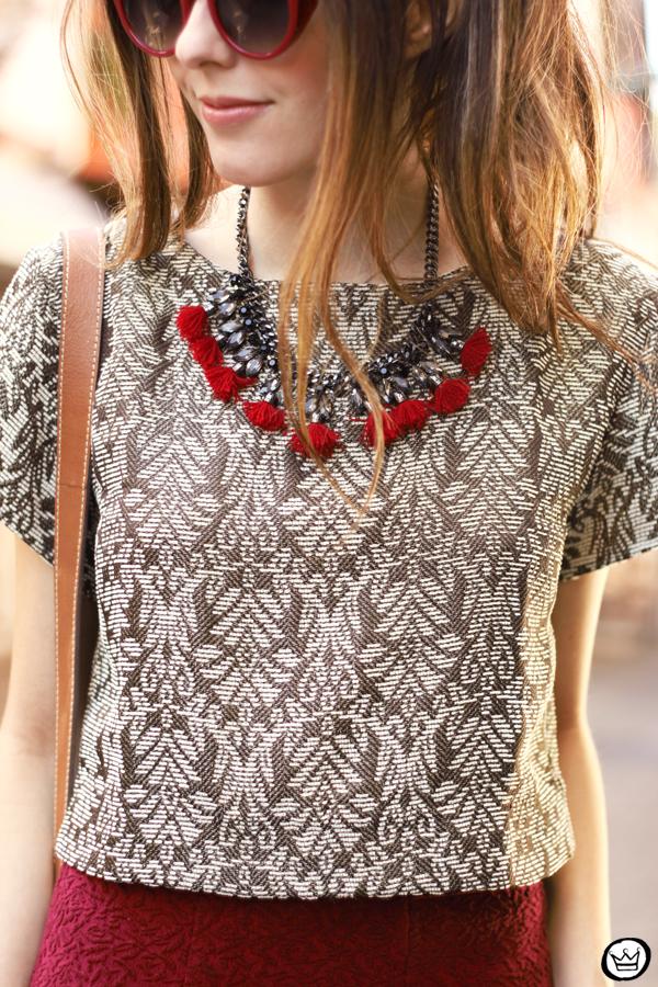 FashionCoolture - 10.04.2015 look du jour Amaro Marsalla printed top (4)