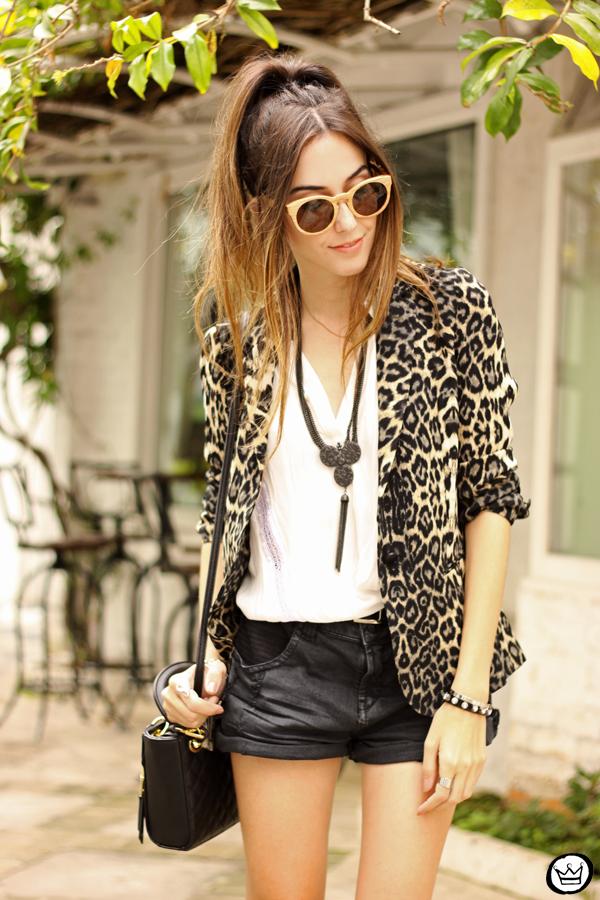 FashionCoolture - 13.04.2015 look du jour Shoulder leopard print blazer (7)