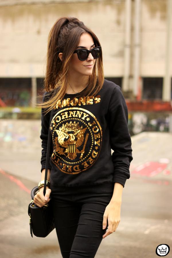FashionCoolture - 24.04.2015 look du jour Ohkei sequined jumper (3)