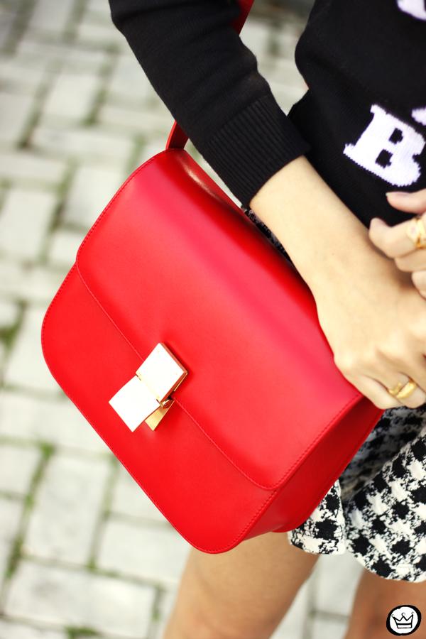 FashionCoolture - 25.04.2015 look du jour Displicent black and white skirt (3)