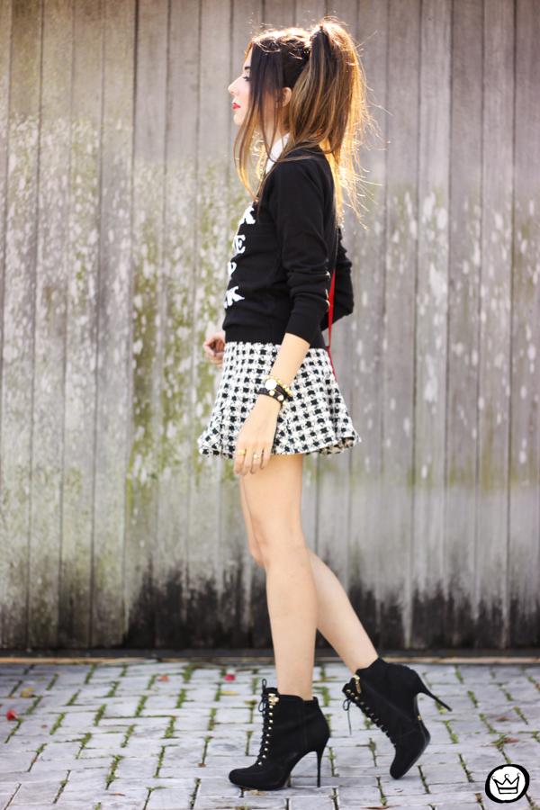FashionCoolture - 25.04.2015 look du jour Displicent black and white skirt (4)