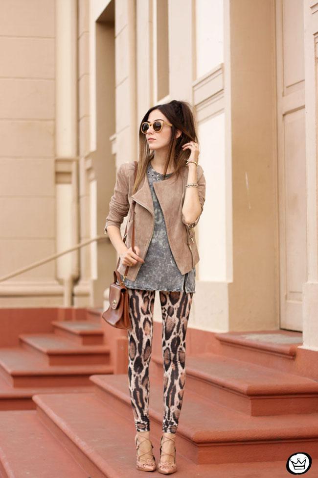 FashionCoolture - 19.05.2015 look du jour Triton neutral tones outfit leopard print (1)