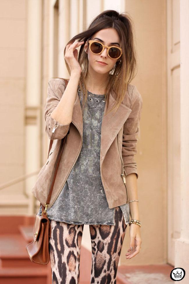 FashionCoolture - 19.05.2015 look du jour Triton neutral tones outfit leopard print (2)