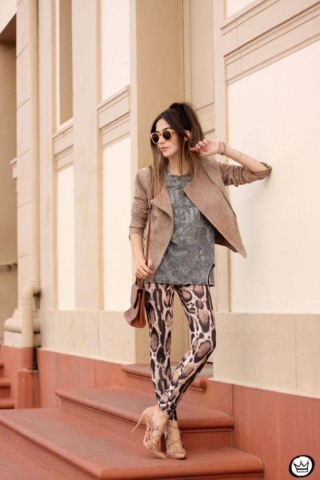 FashionCoolture - 19.05.2015 look du jour Triton neutral tones outfit leopard print (6)