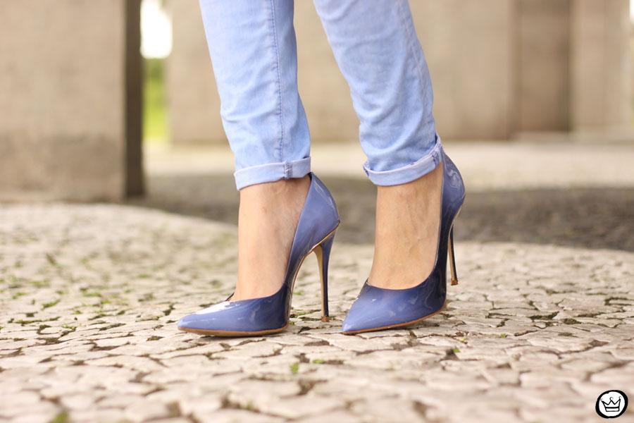 FashionCoolture - 13.05.2015 look du jour baby blue coat winter Gap monochromatic outfit (4)