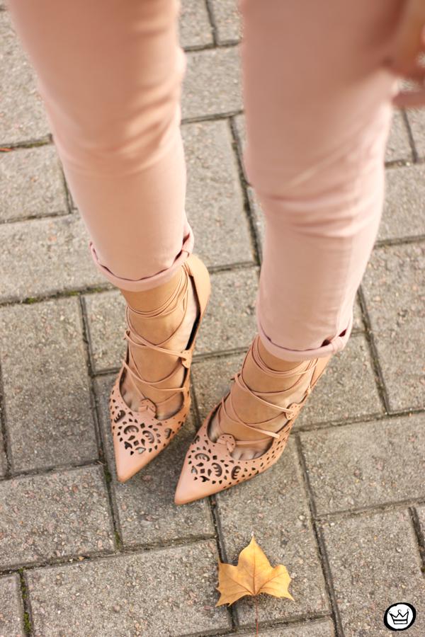 FashionCoolture - look du jour 05.05.2015 Gap pale pink khaki pants (4)
