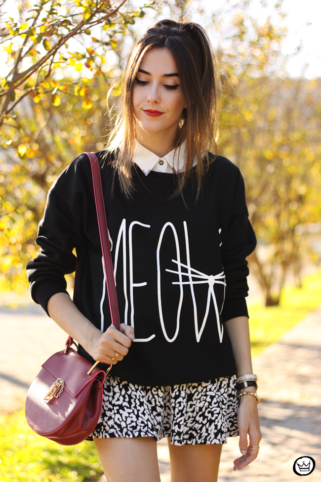 FashionCoolture - 11.06.2015 look du jour Ethus black and white outfit cute jumper (2)