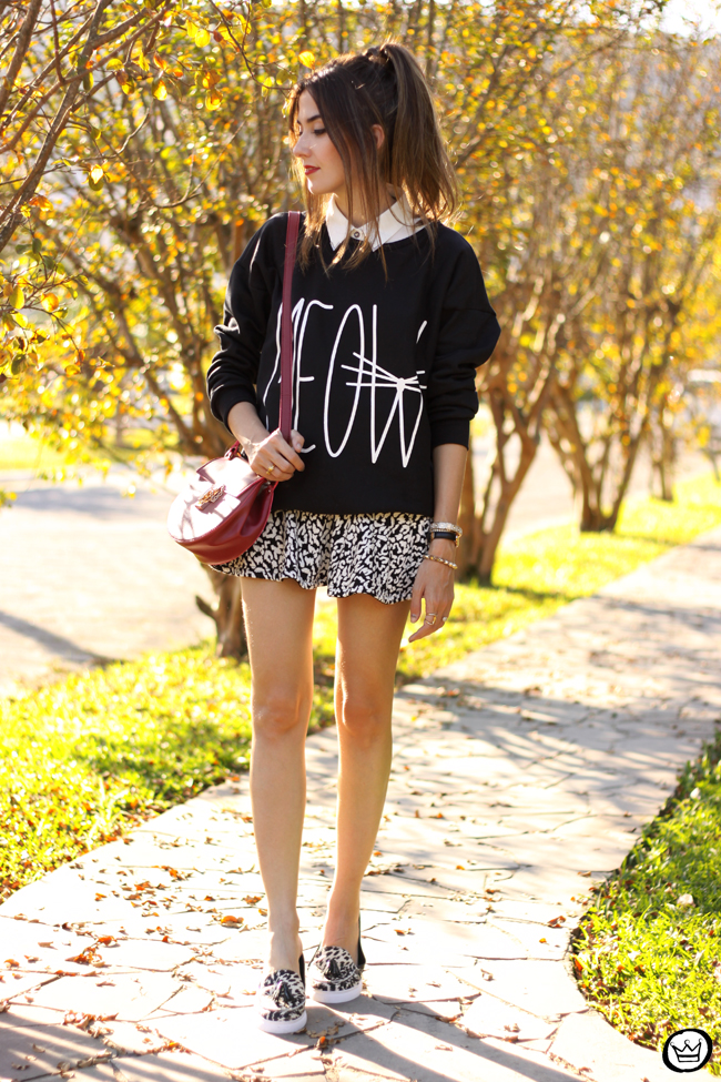 FashionCoolture - 11.06.2015 look du jour Ethus black and white outfit cute jumper (7)