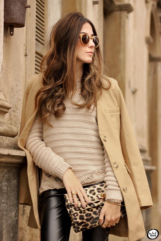 FashionCoolture - 15.06.2015 look du jour Lotus black and camel outfit (2)