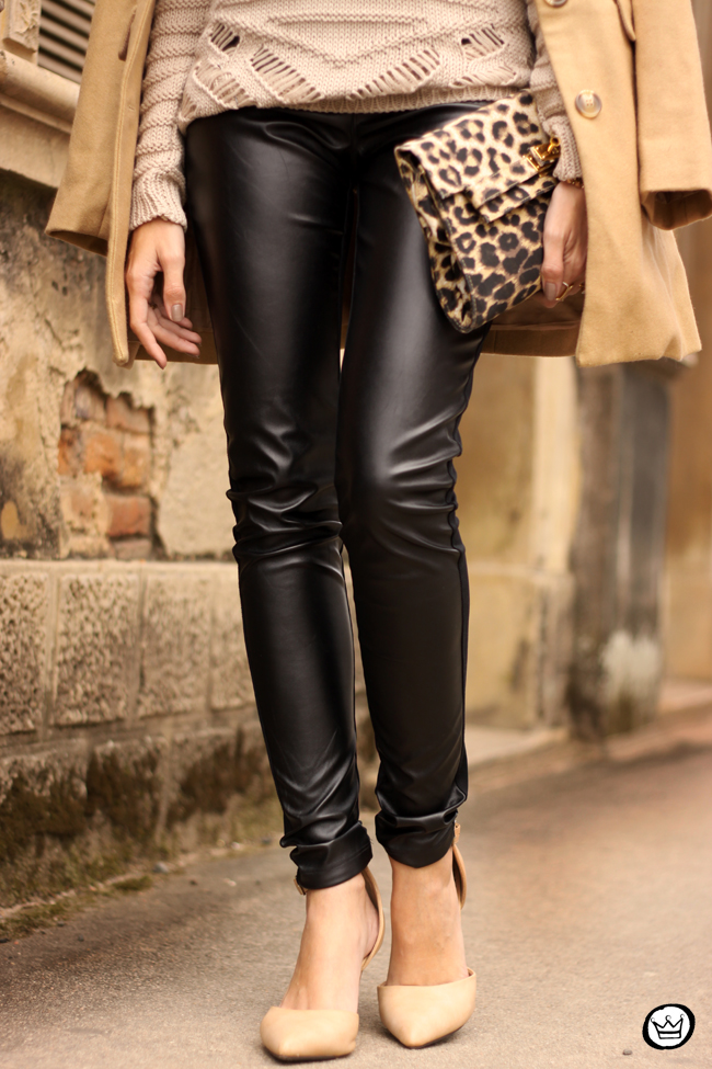 FashionCoolture - 15.06.2015 look du jour Lotus black and camel outfit (4)