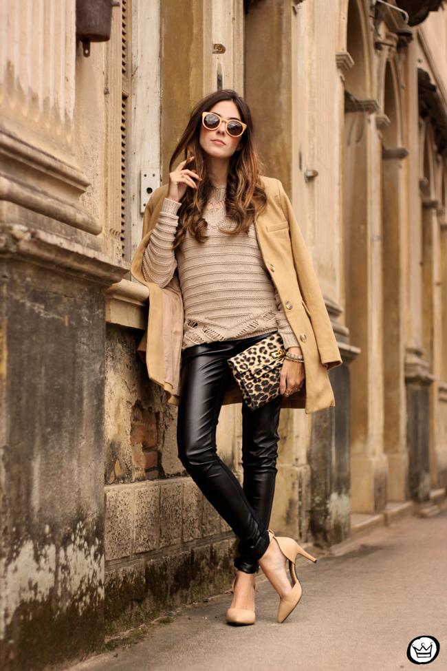 FashionCoolture - 15.06.2015 look du jour Lotus black and camel outfit (6)