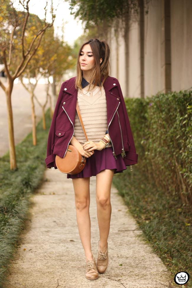 FashionCoolture - 24.06.2015 look du jour Lotus  magenta outfit (1)