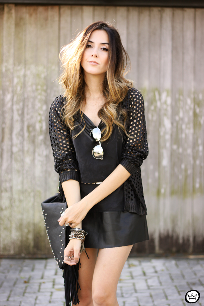 FashionCoolture - 28.06.2015 look du jour Shoulder all black boho outfit (3)