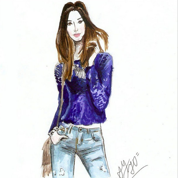FashionCoolture: drawing!