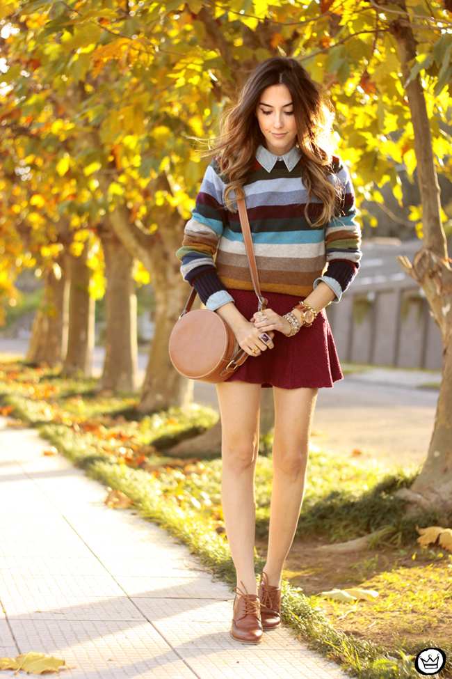 FashionCoolture - 01.07.2015 look du jour Gap striped jumper autumn outfit (1)