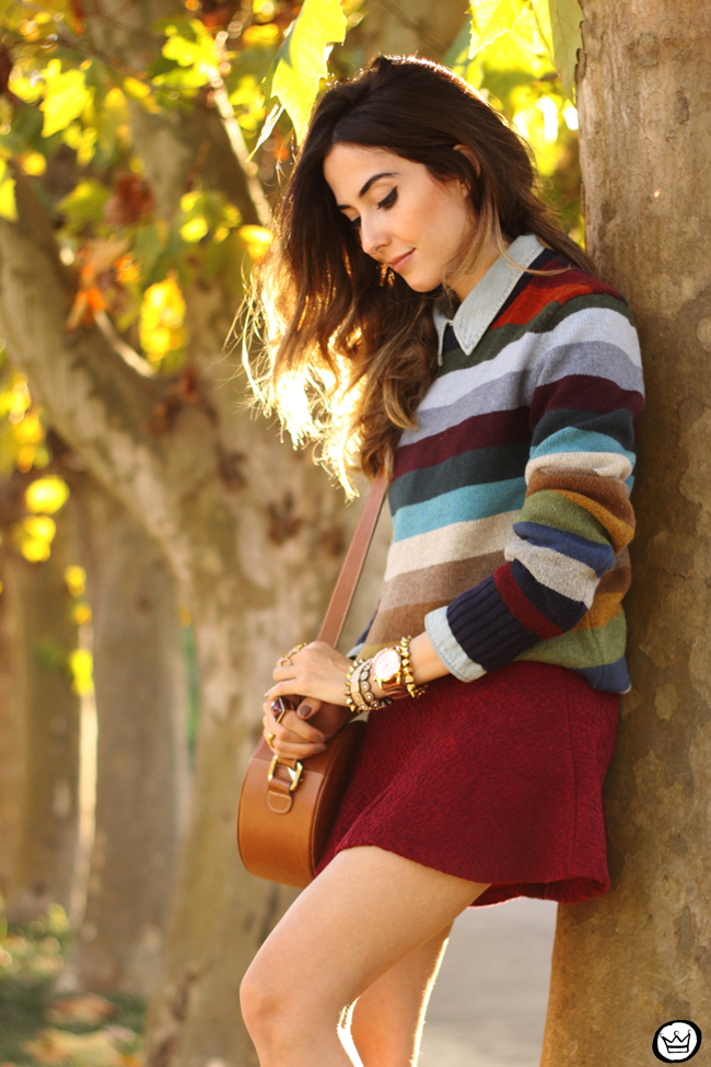 FashionCoolture - 01.07.2015 look du jour Gap striped jumper autumn outfit (2)