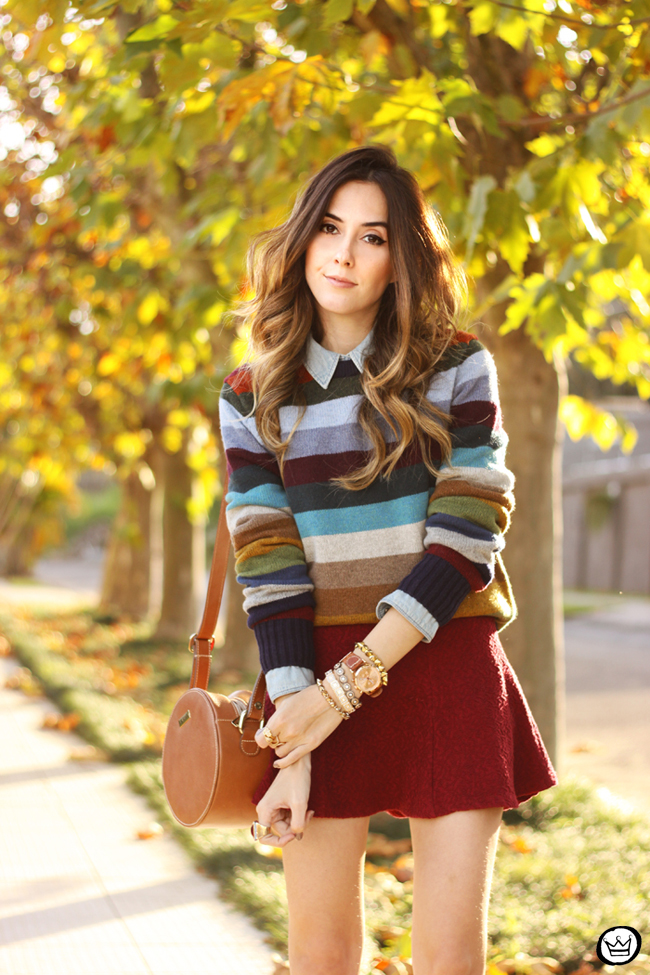 FashionCoolture - 01.07.2015 look du jour Gap striped jumper autumn outfit (4)