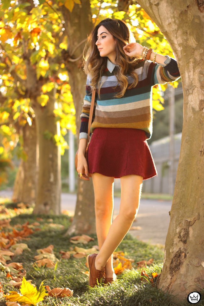 FashionCoolture - 01.07.2015 look du jour Gap striped jumper autumn outfit (6)