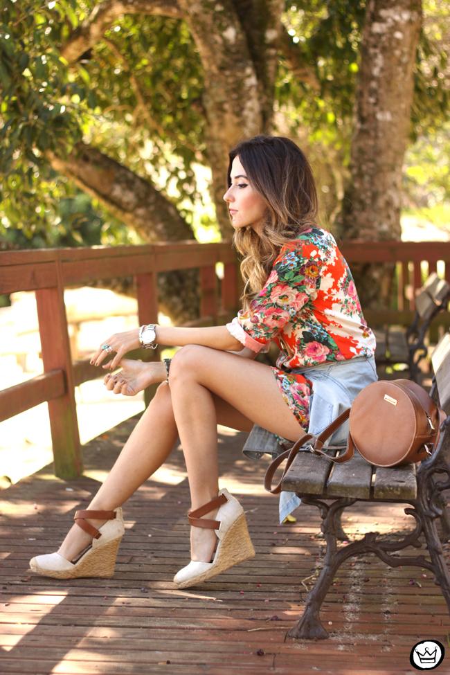FashionCoolture - 21.07.2015 look du jour Slywer floral print jumpsuit denim (8)