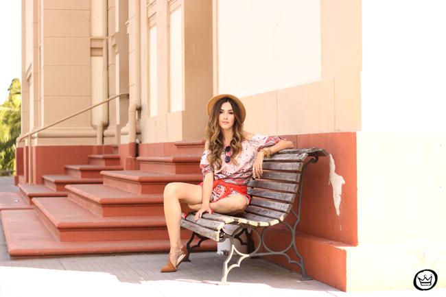 FashionCoolture - 29.07.2015 look du jour Displicent printed romper ethnic print (6)