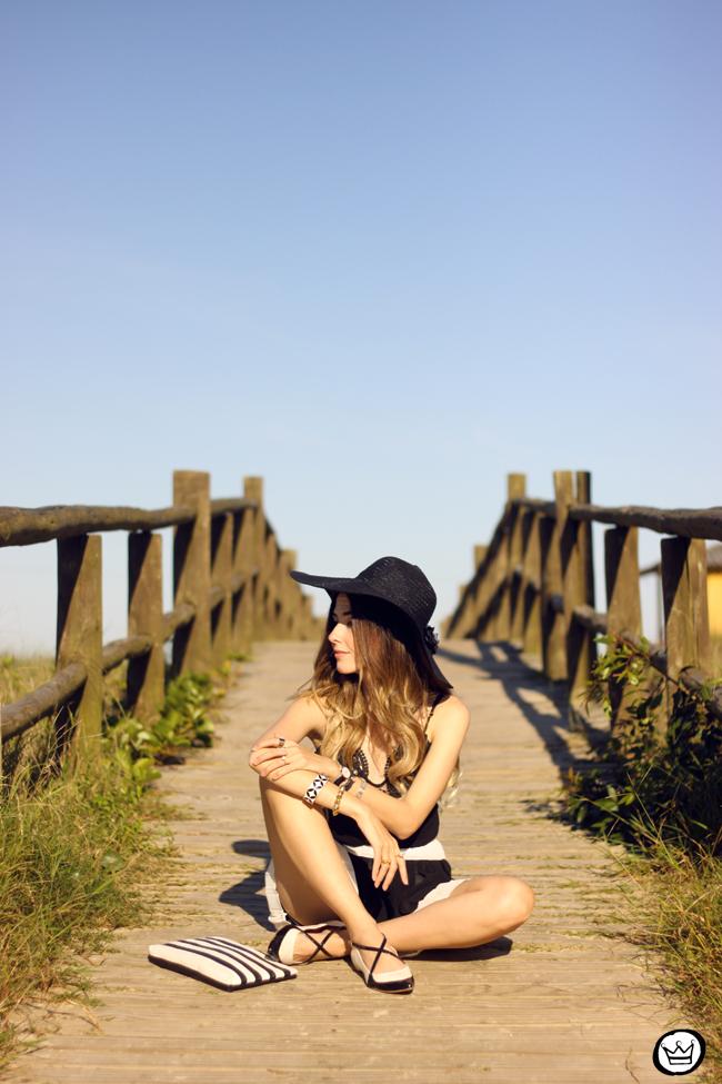 FashionCoolture - 03.08.2015 look du jour Moikana black & white outfit summer (3)