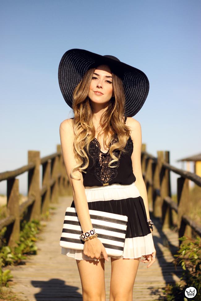 FashionCoolture - 03.08.2015 look du jour Moikana black & white outfit summer (5)