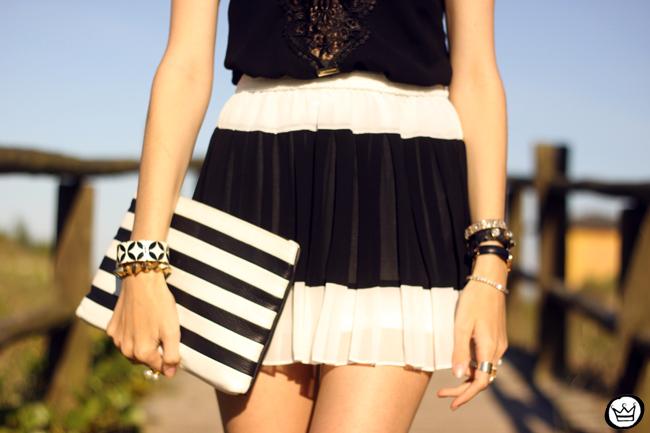 FashionCoolture - 03.08.2015 look du jour Moikana black & white outfit summer (6)