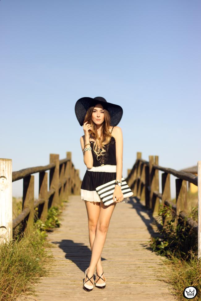 FashionCoolture - 03.08.2015 look du jour Moikana black & white outfit summer (7)