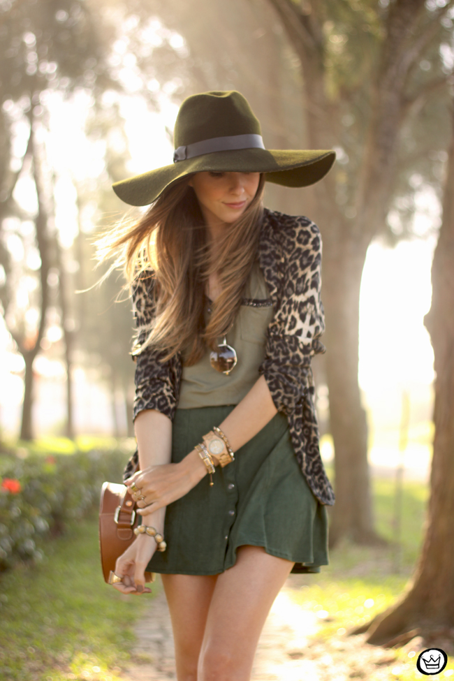 FashionCoolture - 13.08.2015 look du jour Displicent olive green leopard blazer (6)