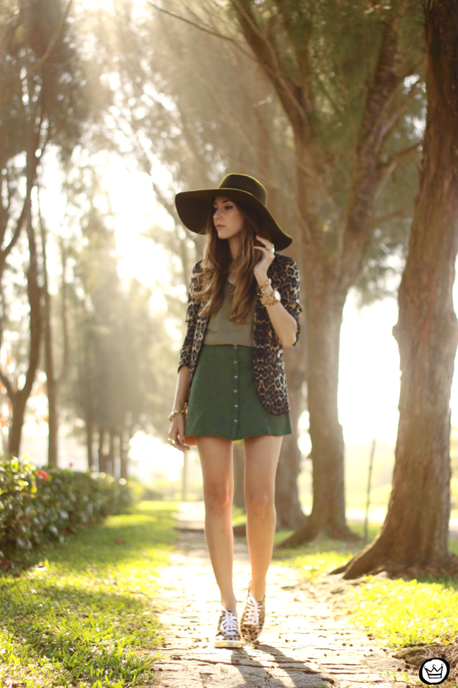 FashionCoolture - 13.08.2015 look du jour Displicent olive green leopard blazer (7)
