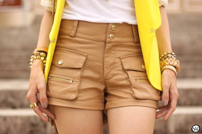 FashionCoolture - 26.08.2015 look du jour Shoulder yellow blazer pop of colour (5)
