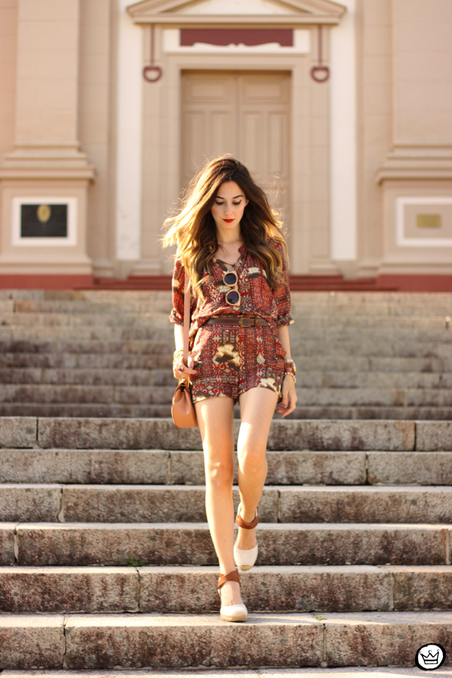 FashionCoolture - 31.08.2015 look du jour Lez a Lez printed suit summer (6)