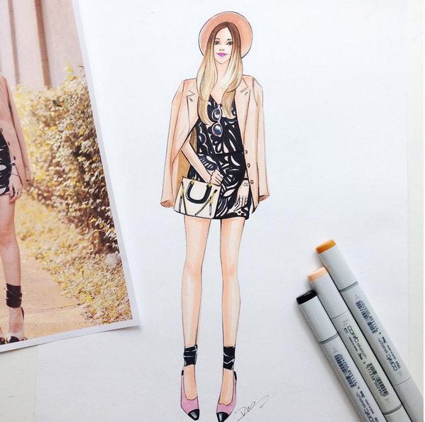 FashionCoolture: drawing!