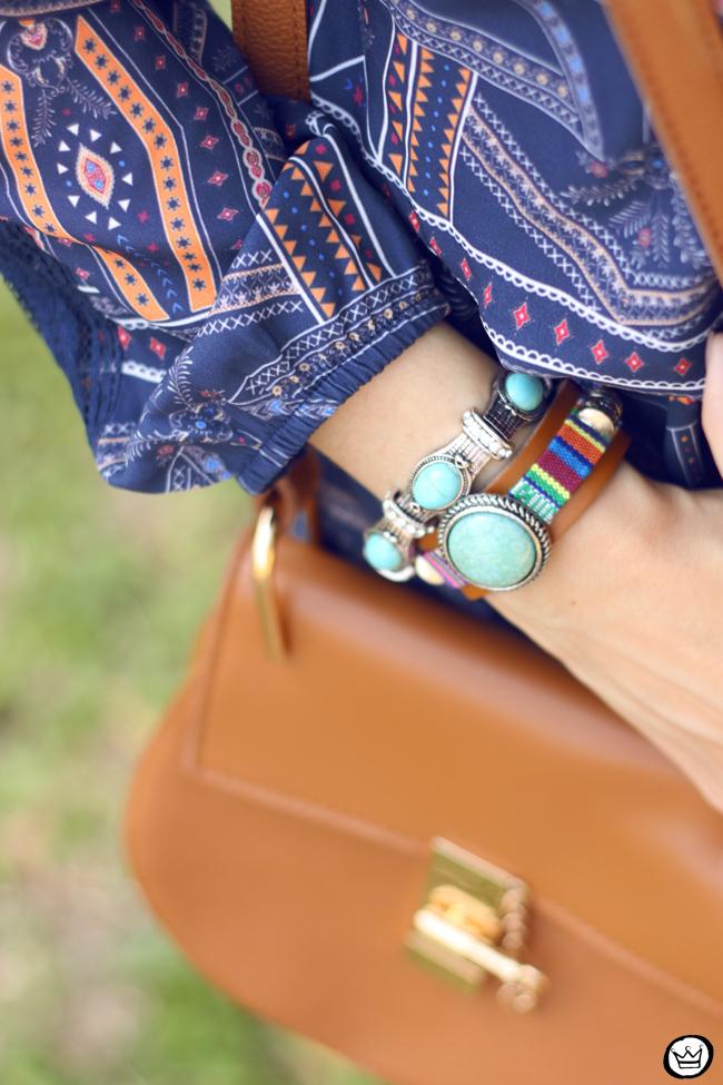FashionCoolture - 01.09.2015 look du jour Amaro boho outfit printed dress (3)