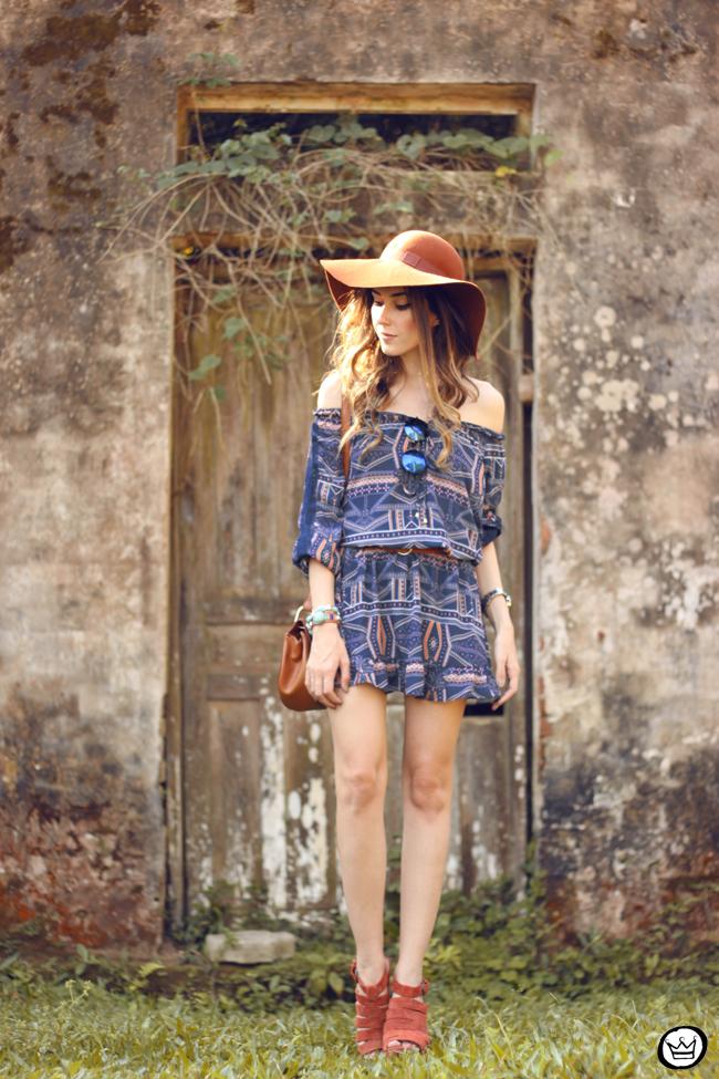 FashionCoolture - 01.09.2015 look du jour Amaro boho outfit printed dress (7)
