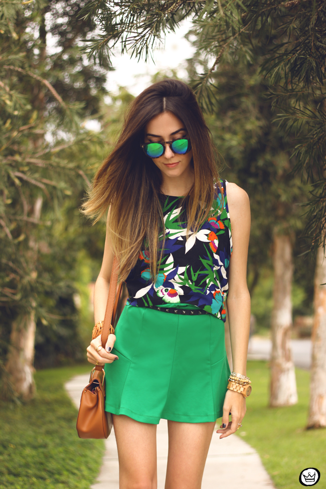 FashionCoolture - 08.09.2015 look du jour  Anna Morena printed top summer outfit gladiators look com sandalia gladiadora (2)