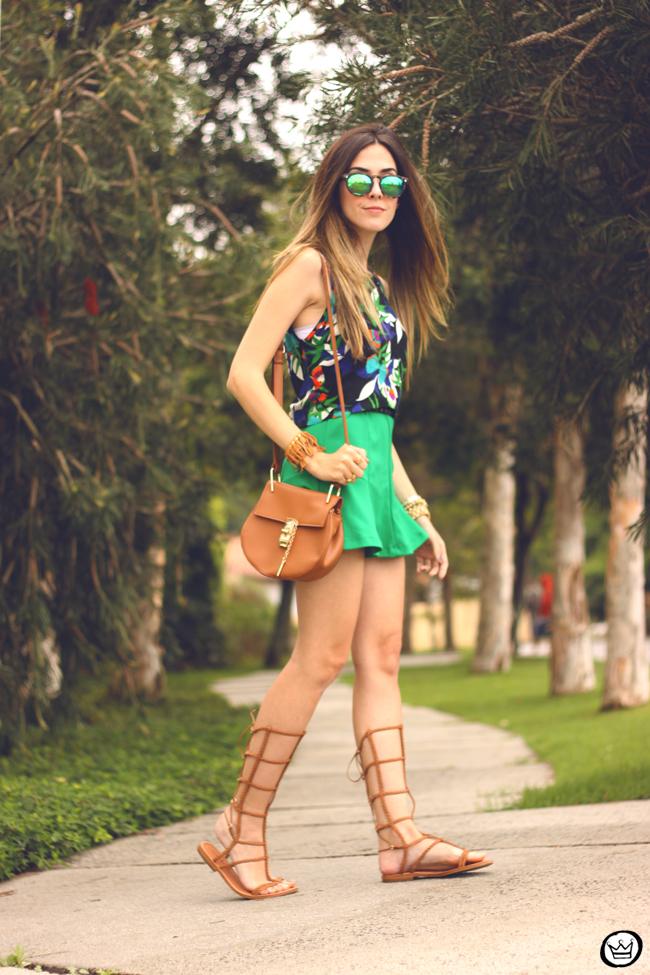 FashionCoolture - 08.09.2015 look du jour  Anna Morena printed top summer outfit gladiators look com sandalia gladiadora (3)