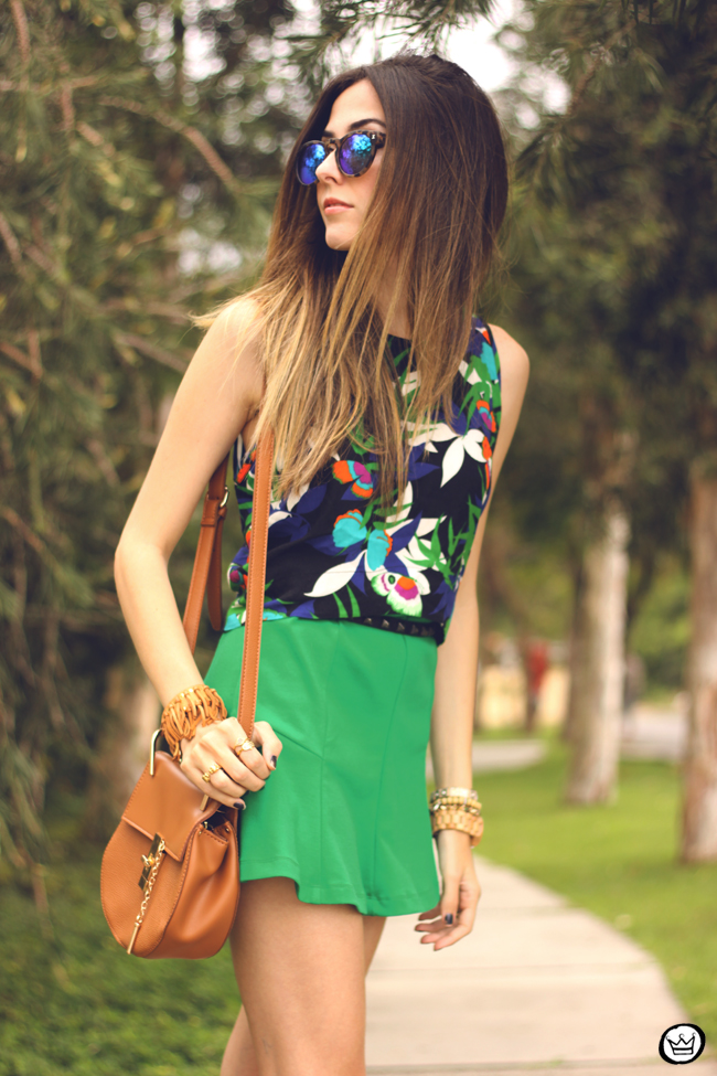 FashionCoolture - 08.09.2015 look du jour  Anna Morena printed top summer outfit gladiators look com sandalia gladiadora (5)