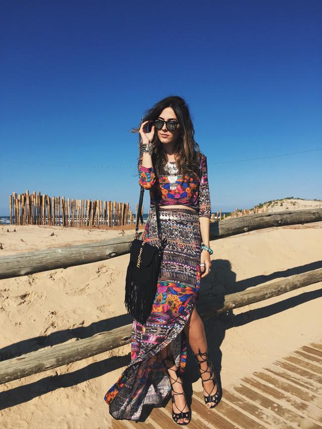 FashionCoolture - 10.09.2015 look du jour Lez a Lez summer print boho outfit (1)