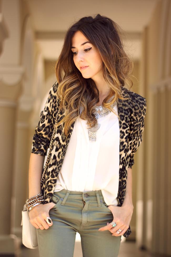 FashionCoolture - 14.09.2015 look du jour resolution denim Gap leopard blazer (2)