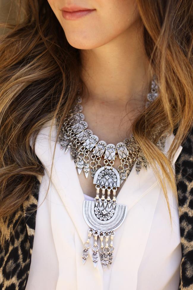 FashionCoolture - 14.09.2015 look du jour resolution denim Gap leopard blazer (4)