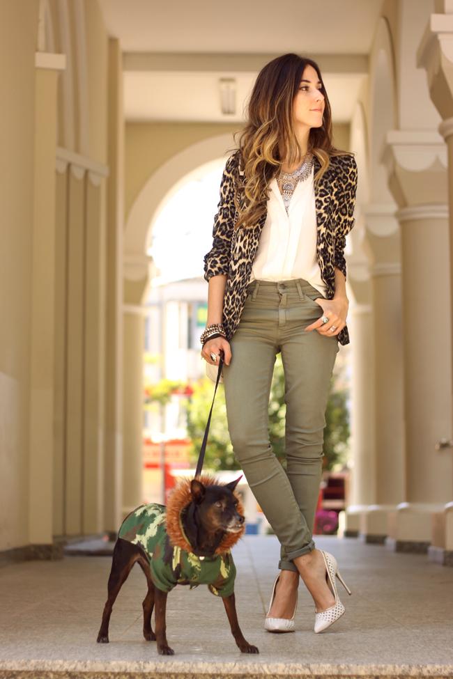 FashionCoolture - 14.09.2015 look du jour resolution denim Gap leopard blazer (7)