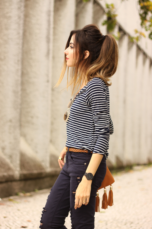 FashionCoolture 01.10.2015 look du jour MOfficer denim navy blue (4)