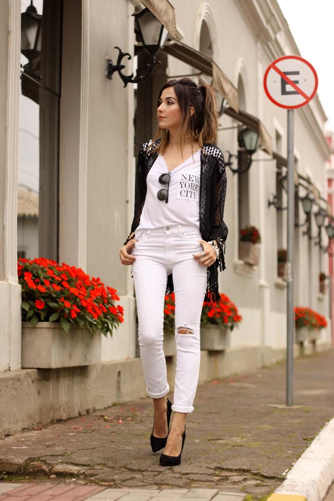 FashionCoolture - 06.10.2015 look du jour SlyWear kimono Gap denim (1).