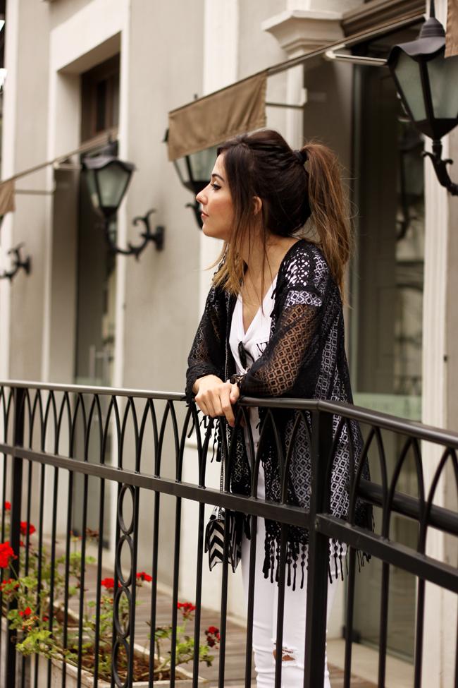 FashionCoolture - 06.10.2015 look du jour SlyWear kimono Gap denim (2)