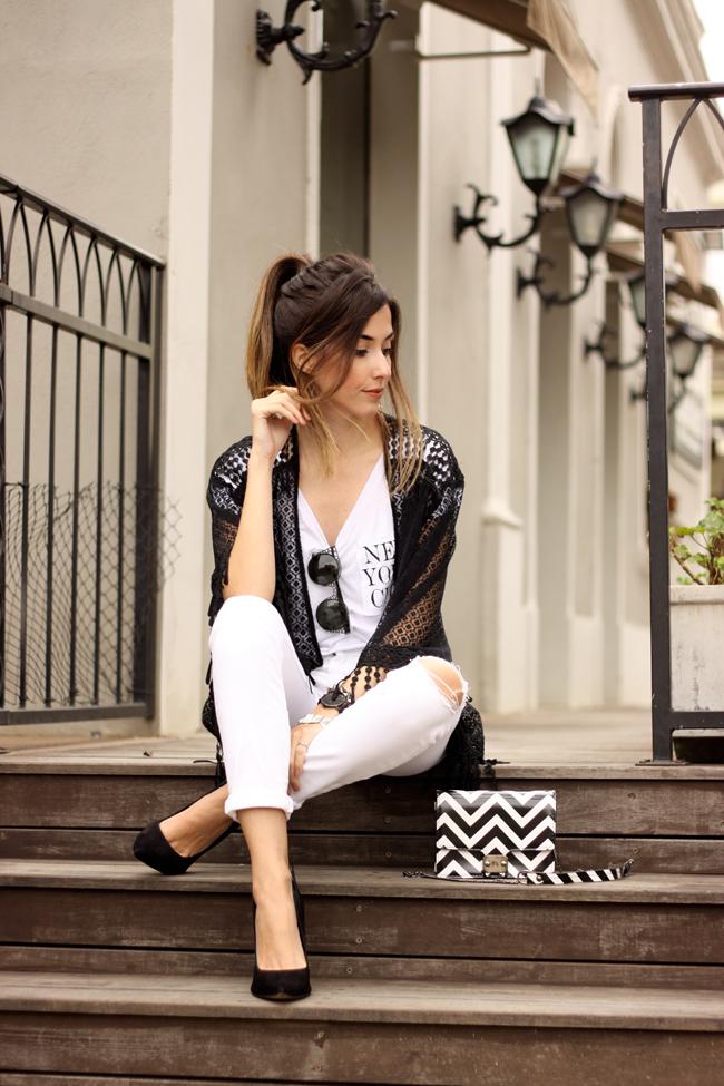 FashionCoolture - 06.10.2015 look du jour SlyWear kimono Gap denim (3)