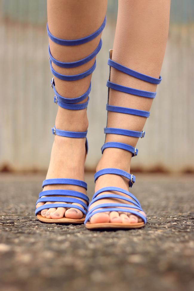 FashionCoolture - 07.10.2015 look du jour Lez a Lez printed romper gladiator sandals (4)