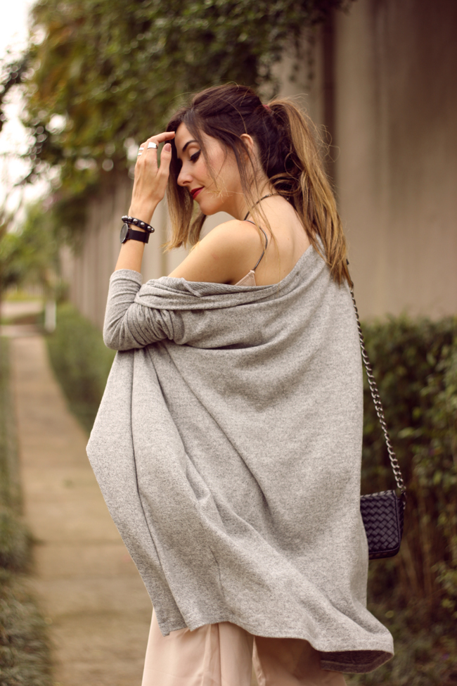 FashionCoolture - 08.10.2015 look du jour Shoulder jumpsuit nude (5)